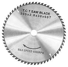 Карбидная дисковая пила WZ, 305 x 2,8 x 30 мм, Z60