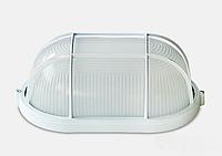 Светильник антивандальный с решеткой для ЖКХ BL-1402 белый овал