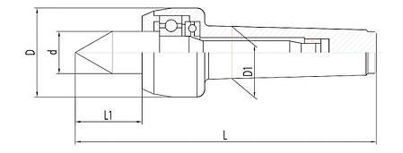 Вращающаяся высокопроизводительная центральная точка NCK-A MK 6, фото 2