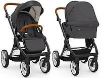 Детская универсальная коляска 2 в 1 Mutsy Evo Urban Nomad Dark Grey рама Black, фото 1
