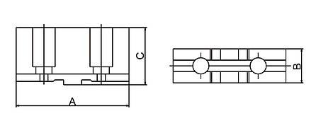 М'які верхні кулачки STJ-PS4-250, фото 2