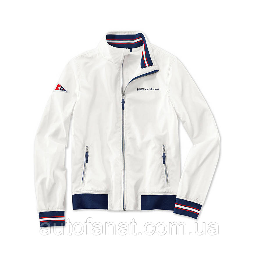 Мужская куртка BMW Yachtsport Jacket, Men, White (80142446734)
