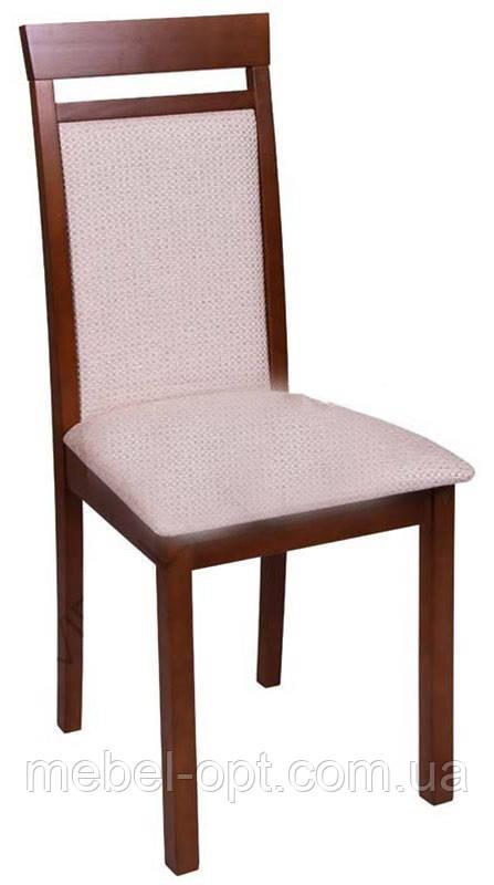 Обеденный стул С-607.2 Ника 2 Н  мягкий, цвет яблоня темная, Заказ от 2 штук
