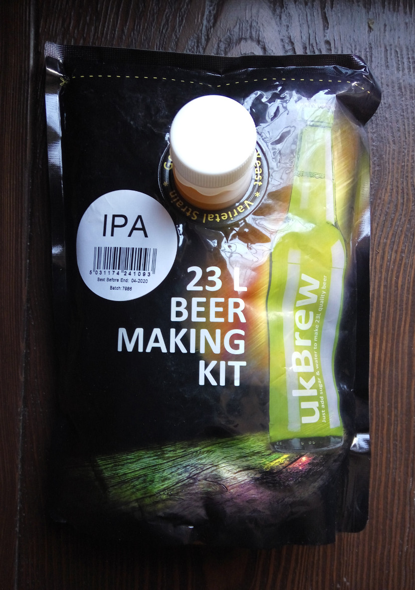 "UK Brew ""India Pale Ale"" (экстракт 1.6кг)"