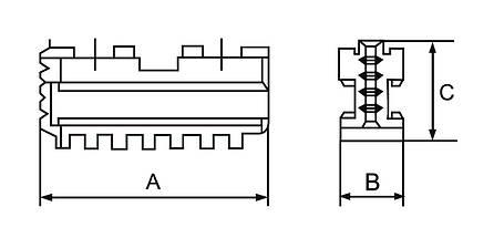 Основні кулачки DMJ-DK12-160, фото 2