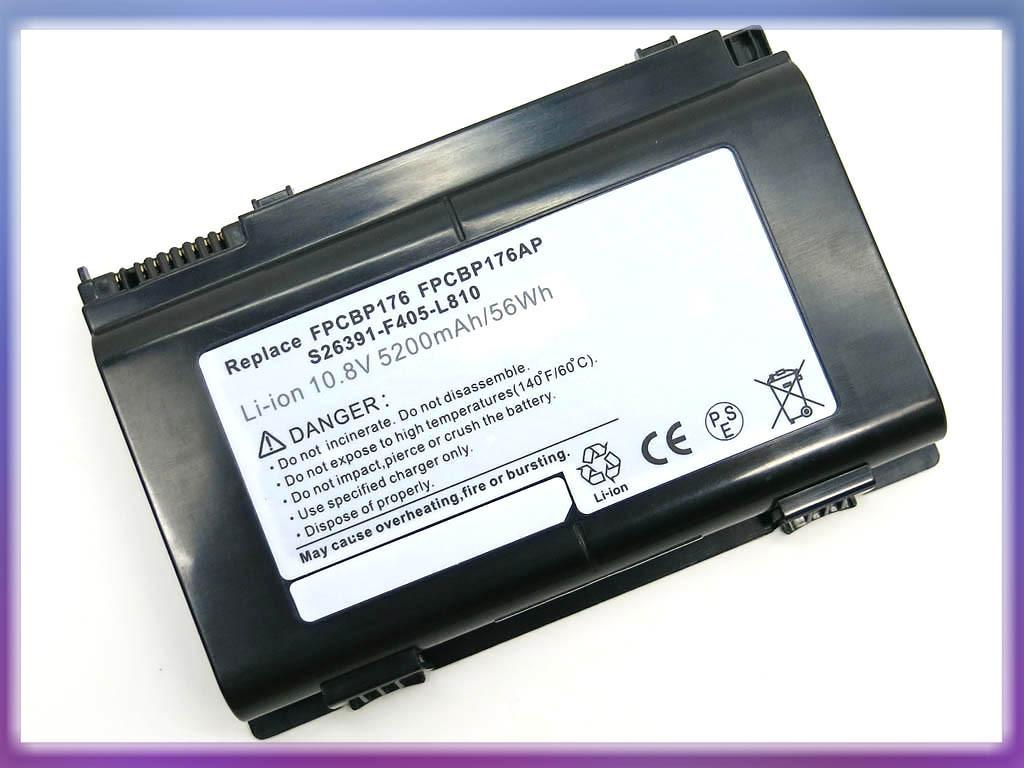 Батарея FUJITSU LifeBook A1220, A6210, AH550, E780, E8410, N7010, NH57