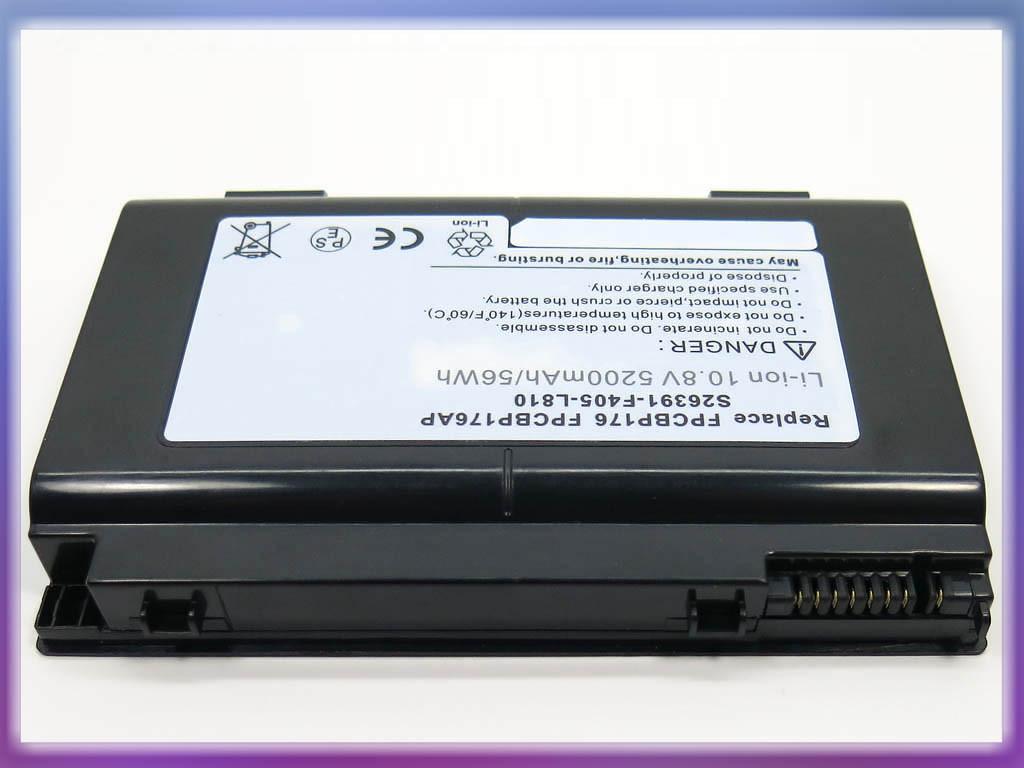 Батарея FUJITSU LifeBook A1220, A6210, AH550, E780, E8410, N7010, NH57 2