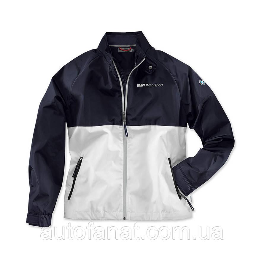 Мужская куртка BMW Motorsport Jacket, Men, White / Team Blue (80142446441)