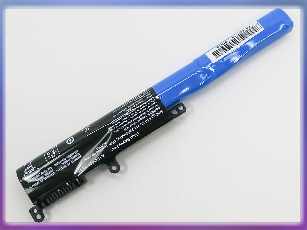 Аккумулятор ASUS (A31N1601) R541UJ 0B110-00440000 (10.8V 2200mAh). Bla