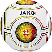 Футбольный мяч JAKO Galaxy Light White-Red-Yellow (4050144935344)