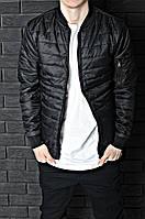 Бомбер мужской куртка черная. Качество. Живое фото (весенняя куртка)
