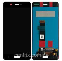 Дисплей (экран) для Nokia 5 TA-1024/Dual Sim TA-1053 + тачскрин, цвет черный, оригинал
