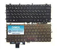 Оригинальная клавиатура для ноутбука Sony Vaio Multi-Flip SVF111, SVF11, FIT11a series, ru, под подсветку