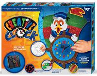 """Подарочный набор. Креативные часы. """"Creative clock"""" """"Утёнок"""""""