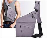 Мужская сумка через плечо Cross body (кросс-боди). Оригинал, фото 2