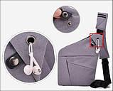 Мужская сумка через плечо Cross body (кросс-боди). Оригинал, фото 3