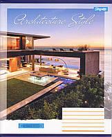 "Тетрадь школьная 96 л.клетка ""Architecture city"", фото 1"