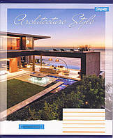 "Тетрадь школьная 96 л.клетка ""Architecture city"" 762840, фото 1"