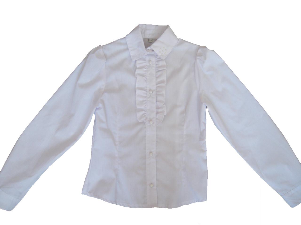 Блузка для девочки  MM DadaK белая  140