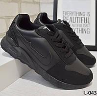 Кроссовки черные размер 36 и 39, женская  обувь, фото 1
