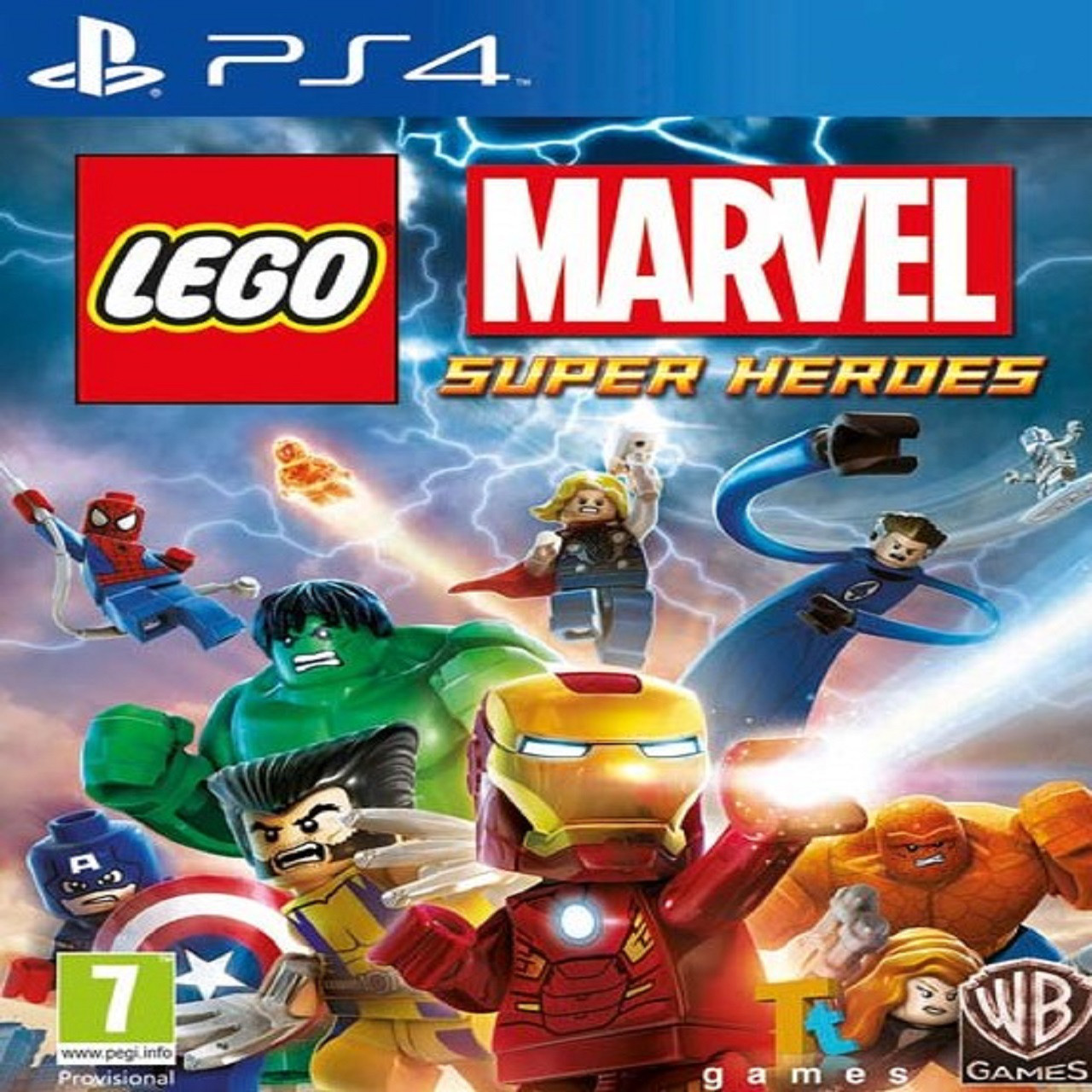 LEGO Marvel:Super Heroes ENG PS4 (Б/В)