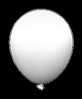 """Воздушные латексные шары STD 02 12""""(30см) Пастель Белый В упак:100 шт. Пр-во:""""Kalisan"""" Турция"""