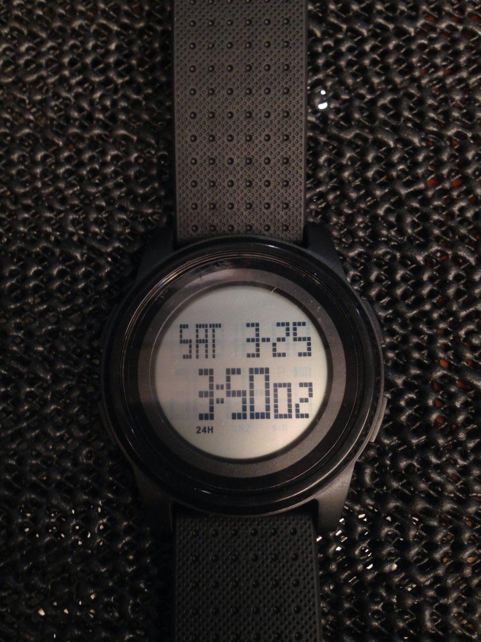 Часы Skmei 1206 Black BOX (1206BOXBK)
