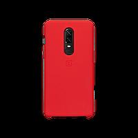 Оригинальный чехол OnePlus 6 Silicone Protective Case (Red)
