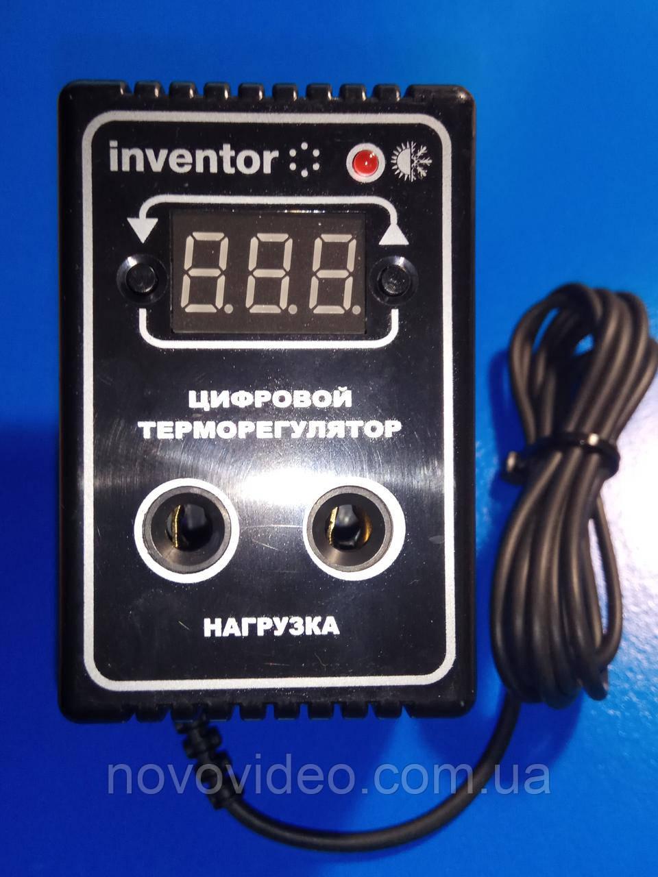 Цифровой терморегулятор Inventor на два температурных предела 10А
