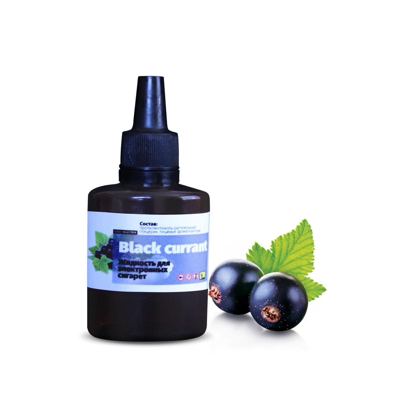 Жидкость для электронных сигарет 4ISTO VAPE Черная смородина 30 мл 0 мг/мл