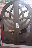 Двері офісні металопластикові