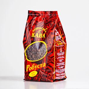 Кава смажена в зернах робуста Індія Мунсонд Малабар АА 0.5kg