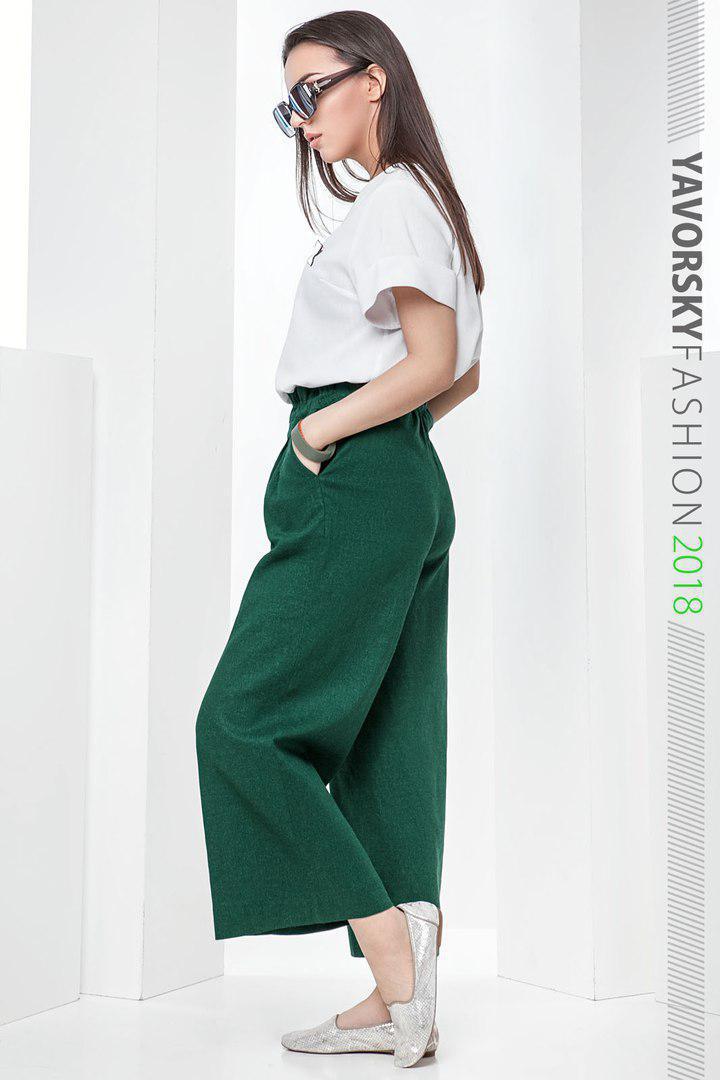 f5d587472c2a7ad Женский льняной костюм размер 42 - 48 цвет зеленый, цена 1 218,88 грн.,  купить в Харькове — Prom.ua (ID#748785002)