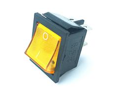 """Перемикач клавіатури КП-2-220В 4 контакту, 2 положення з фіксацією """"вкл-викл"""""""", без підсвітки"""
