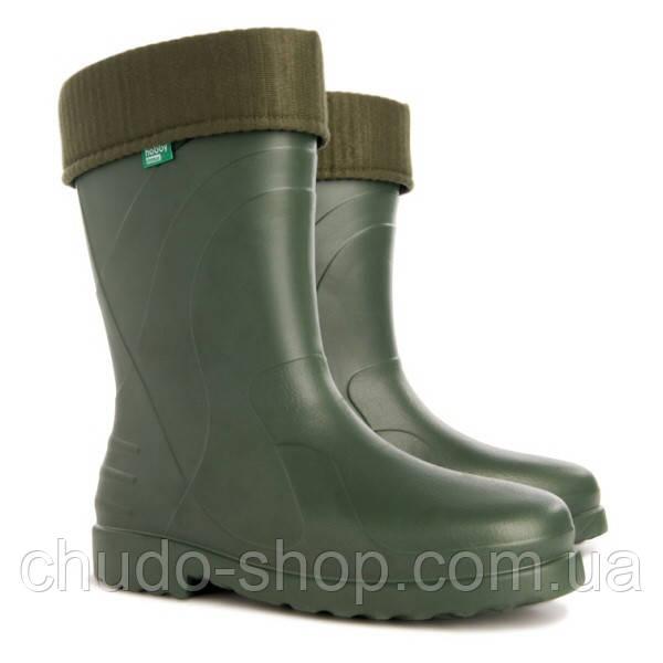 Резиновые сапоги DEMAR LUNA b зеленые (размеры с 36 по 42)