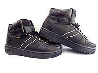 Кроссовки высокие Buffolo р-р 37 (23,5 см) (Б/У, СТОК) original чёрные, фото 1