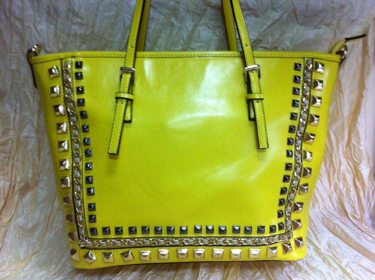 3d4e8377ed8c Жёлтая сумка с шипами, цена 961,20 грн., купить в Харькове — Prom.ua ...