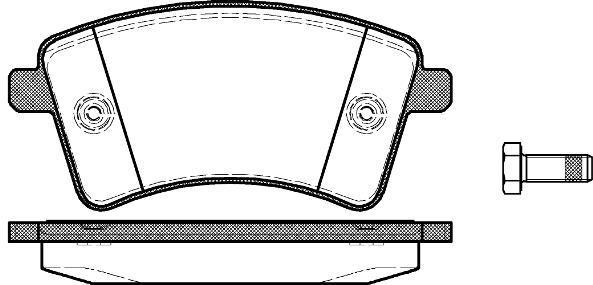 ABE c1r042abe тормозные колодки (передние) MERCEDES-BENZ CITAN Combi, RENAULT KANGOO