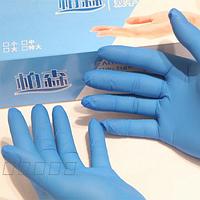 Перчатки резиновые латексные 50 пар в упак. размер XL, цена за упак
