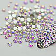 Стразы Swarovski SS10 Crystal AB 100 шт (россыпь) , фото 3