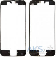 Передняя панель корпуса (рамка дисплея) Apple iPhone 5C Black