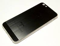 Чехол для iPhone 6 Plus / 6s Plus силиконовый текстура графит, фото 1