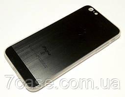 Чехол для iPhone 6 Plus / 6s Plus силиконовый текстура графит