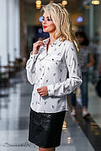 Женская блузка с карманами на груди (2299 svt), фото 2