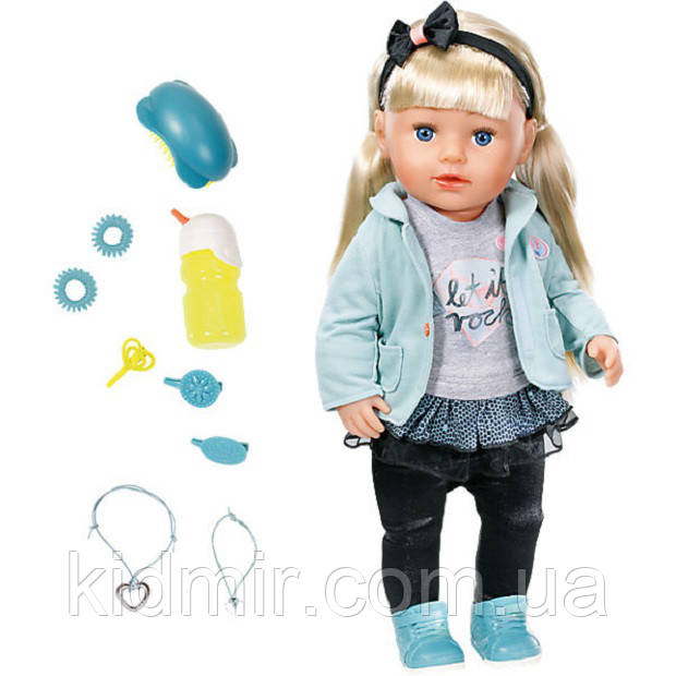 Интерактивная кукла Беби Борн Сестренка Baby Born Zapf Creation 824245