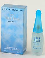 Beautimatic True Blue (Бьютиматик Тру Блу) женская туалетная вода 30 ml, фото 1
