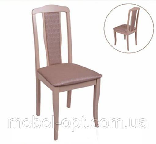 Деревянный стул С-607.9 Севилья Н мягкий, цвет бук натуральный, Заказ от 2 штук, фото 2