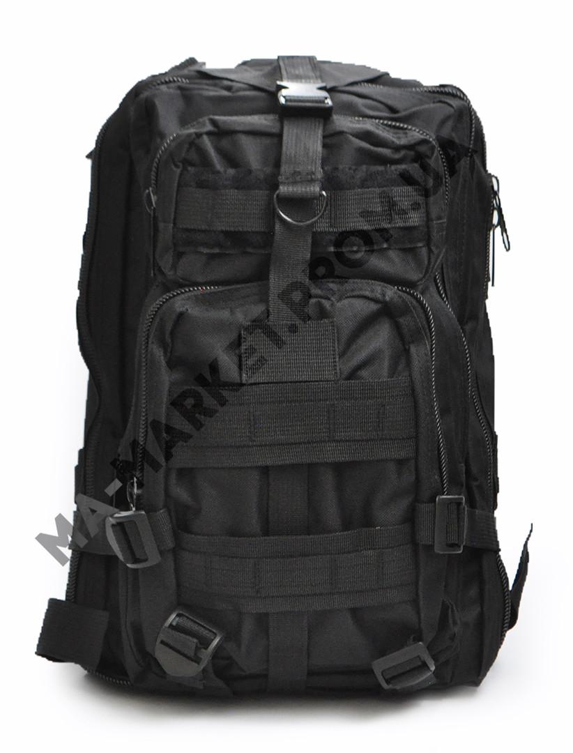 b84d03781350 Тактический рюкзак 25 литров. Цвет - Черный. - Магазин Амуниции в Киеве