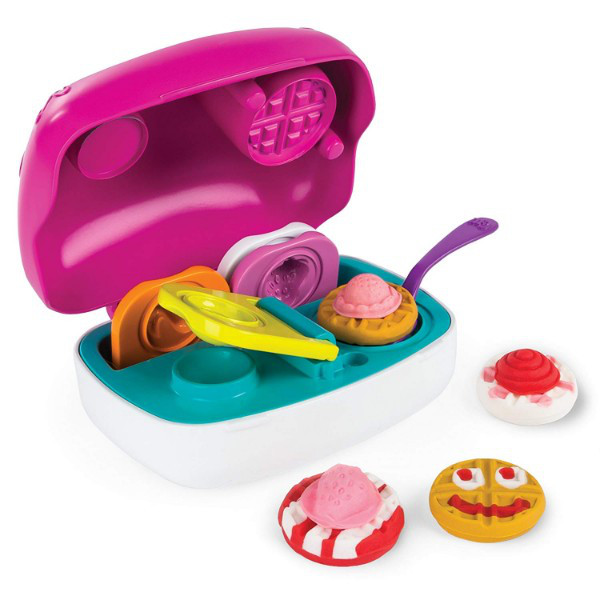 "Cool Maker Набор для лепки ""Вафельница"" All in One Food Craft Kit – Mini Waffle Treat Maker"