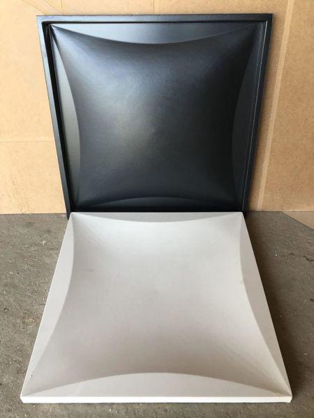 """Пластиковая форма для изготовления 3d панелей """"Ирис"""" 50*50 (форма для 3д панелей из абс пластика)"""
